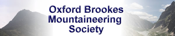 Oxford Brookes Mountaineering Society Logo